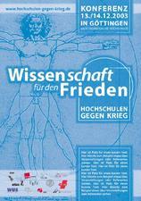 """""""Hochschulen gegen Krieg"""""""