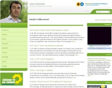 Relaunch der Homepage von Cem Özdemir, MdEP