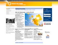 Launch von woche-der-sonne.de