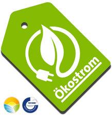 Unser Öko-Strom von Naturstrom trägt das Grüner Strom Label in GOLD und ist zertifiziert vom TÜV-Nord.