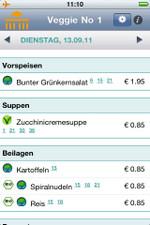 Die Speisepläne der Berliner Mensen jetzt auch mobil