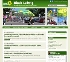 Launch der Homepage von Nicole Ludwig
