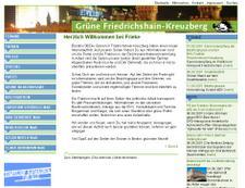 Frieke.de - ein umfassender Webauftritt für grüne Stadtpolitik