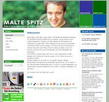 Launch von malte-spitz.de